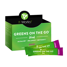 Greens on the Go  Berry - ON BACKORDER UNTIL 5/2/14