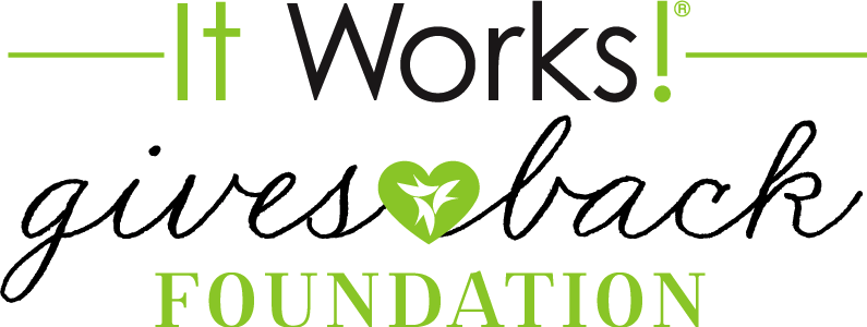 It Works! gives back foundation