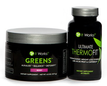 what is the it works system STEP 3 reboot with thermofit and greens
